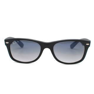Ray-ban Black Wayfarer Polarized Sunglasses