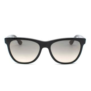 Ray-Ban Black Gradient Lens Sunglasses