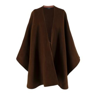 Joseph Brown Oslo Wool & Cashmere-blend Cape