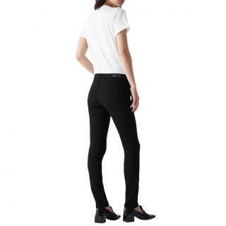 AG Jeans Black The Stilt Cigarette Jeans
