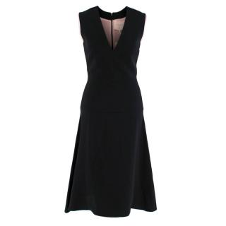 Roksanda Black Sleeveless A-Line Dress