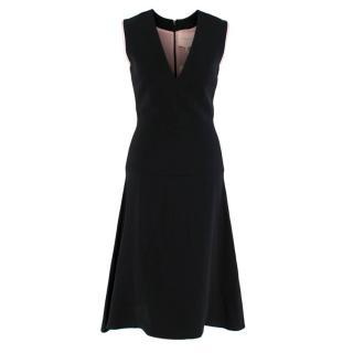Roksanda Black Sleeveless A-Line Dress