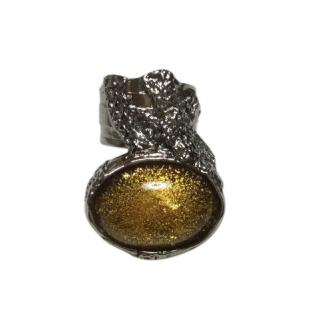 Yves Saint Laurent Yellow Arty Ring