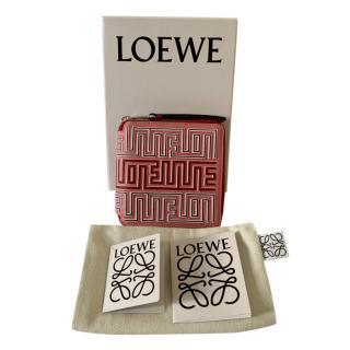 Loewe Candy Pink 3D Zip-Around Wallet