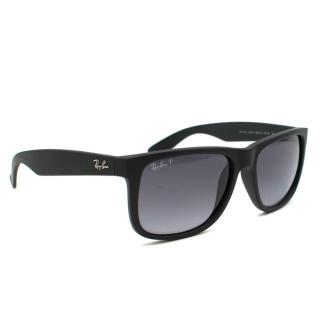 Ray-Ban Justin Polarized Matte Black Sunglasses