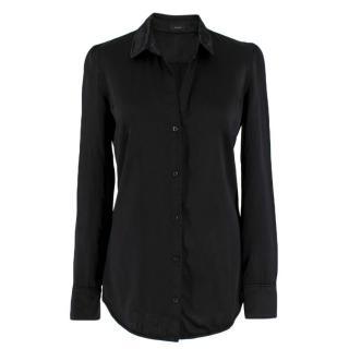 Joseph Black Stacy Satin Shirt