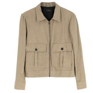 Joseph Men's Natural Khaki Joe Jacket