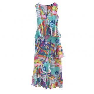 House of Holland multi coloured print dress