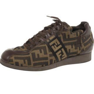 Fendi FF Tobacco Sneakers