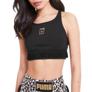 Charlotte Olympia x Puma limited edition black crop top
