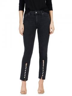 Paige Julia Mother of Pearl Black Jeans