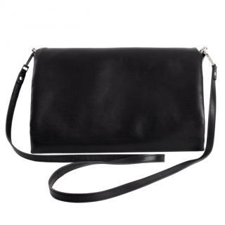 Rick Owens Black Leather Medium Crossbody Bag