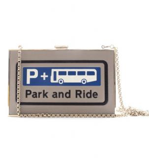 Anya Hindmarch Park & Ride Box Clutch on Chain