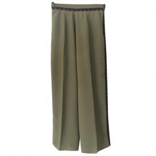 Lug Von Siga khaki summer weight trousers