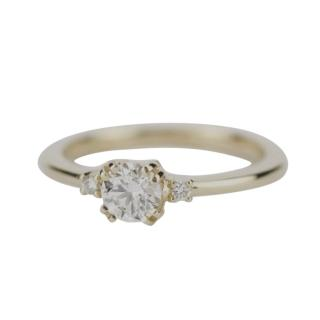 Bespoke Yellow Gold Diamond Engagement Ring
