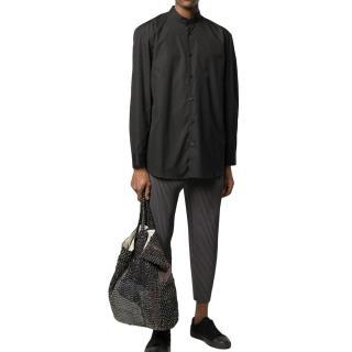 Issey Miyake Black Mens Tailored Shirt
