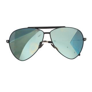 Alexander McQueen Mirrored Aviator Sunglasses