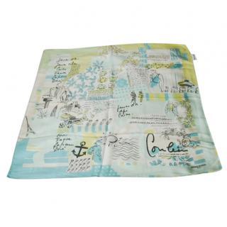 Sonia Rykiel Printed Silk Scarf