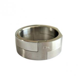 Dyrberg/Kern Brushed Stainless Steel Ring