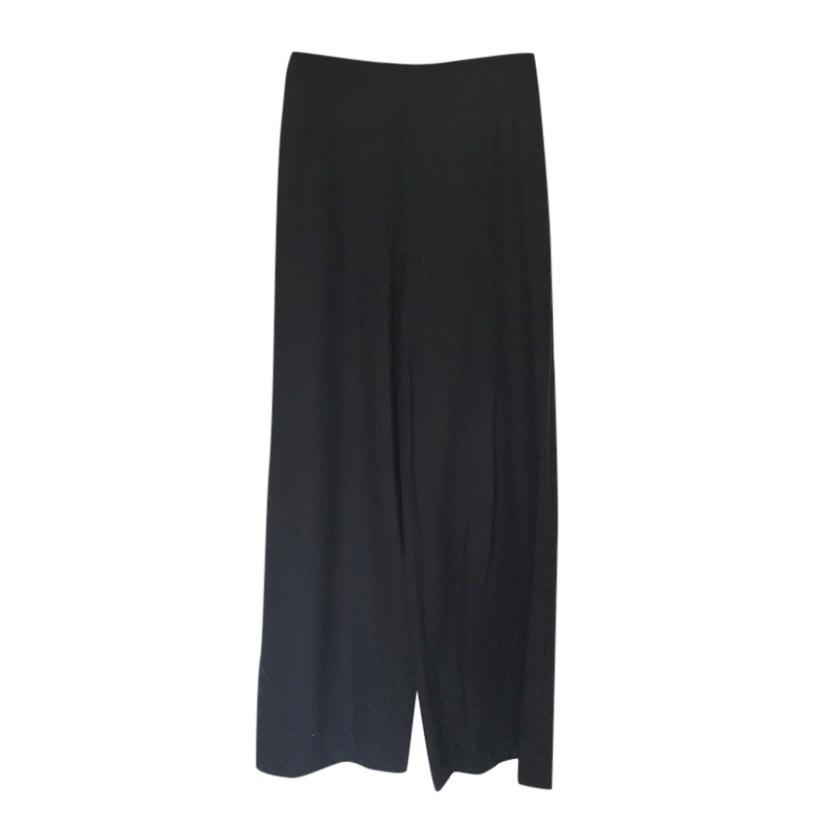 Bamford Wide Leg Wool & Cashmere Pants