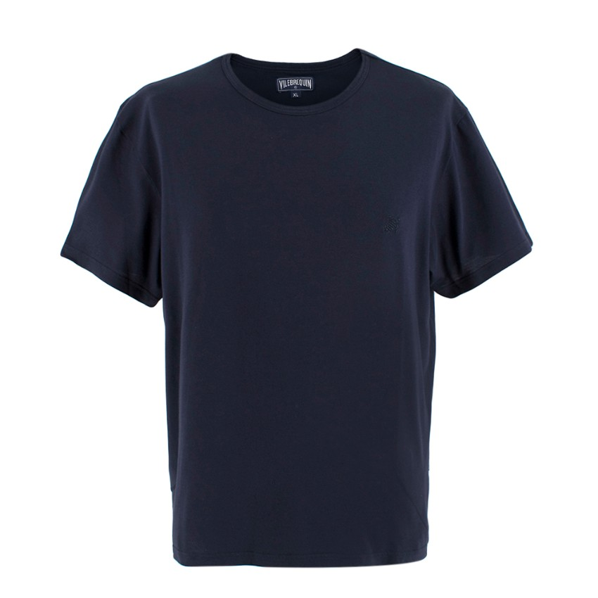 Vilebrequin dark navy cotton T-shirt