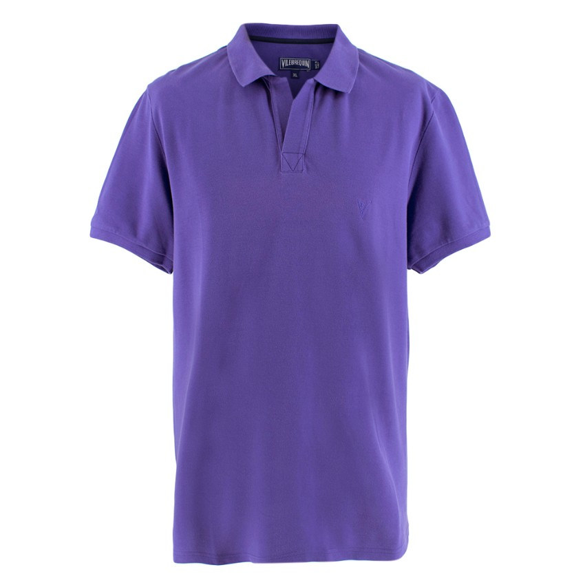 Vilebrequin Purple Polo Shirt