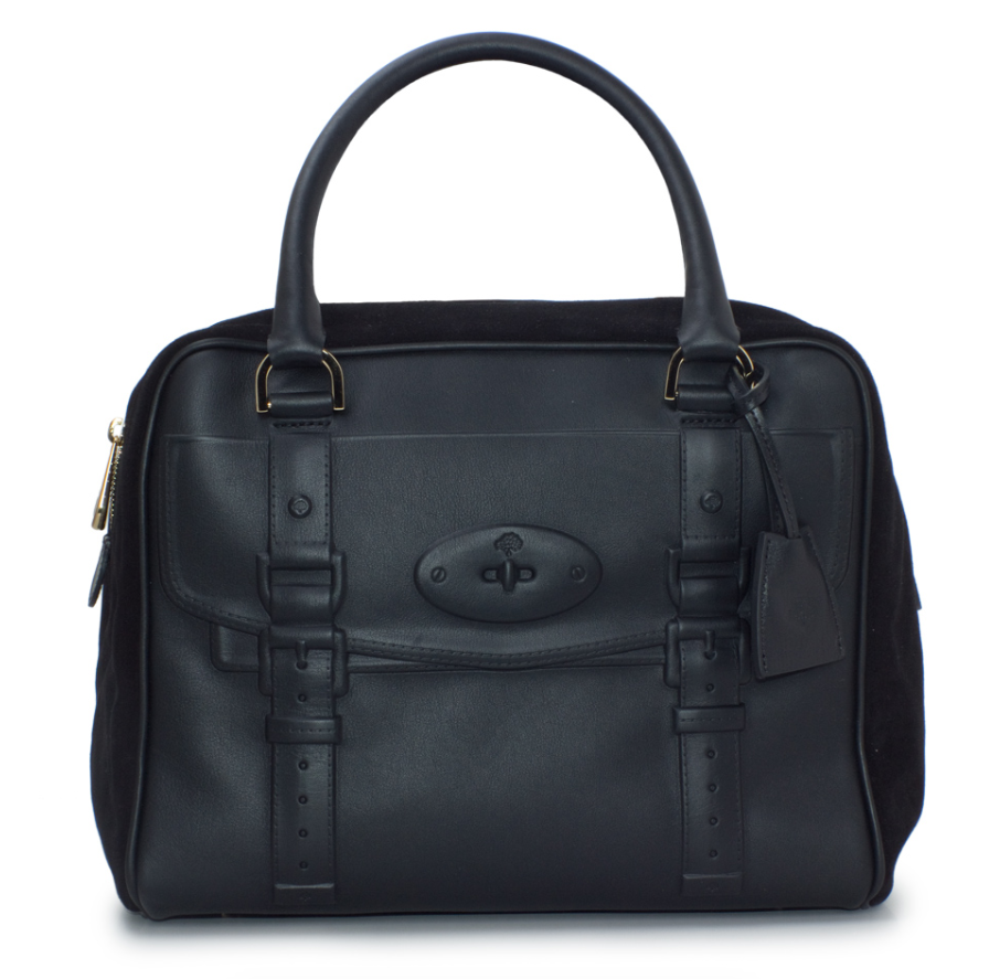 Mulberry Black Maisie Clipper Bag
