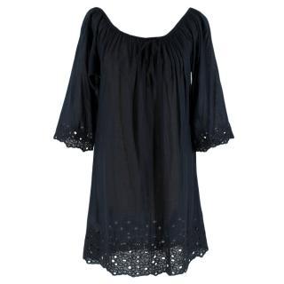 La Perla Navy Cotton Dress