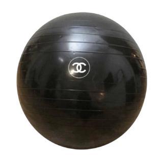 Chanel CC Black Exercise Ball
