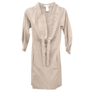 Celine Beige Safari Dress
