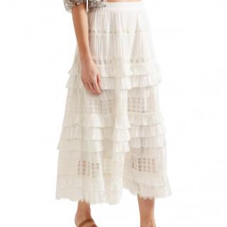 Zimmermann Broderie Anglaise Skirt