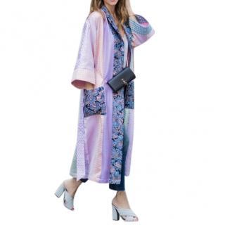 Natasha Zinko Patterned Patchwork Kimono
