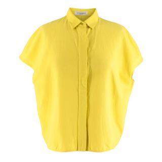 Viktor & Rolf Bright Yellow Oversize Crop Shirt