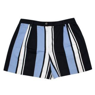 Dolce & Gabbana Cotton striped shorts