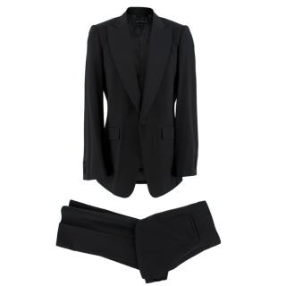Burberry Black Wool Hand-Tailored Tuxedo