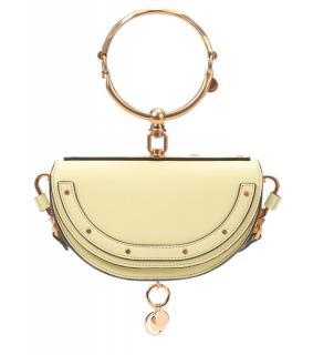 Chloe Pale Yellow Nile Minaudiere Crossbody Bag