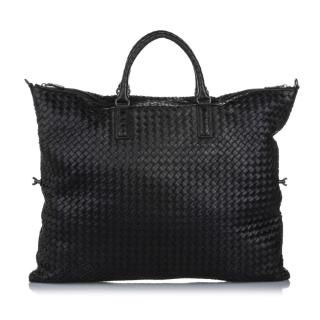 Bottega Veneta Maxi Intrecciato Convertible Travel Bag