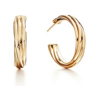 Tiffany & Co. Paloma's Melody Hoop Earrings