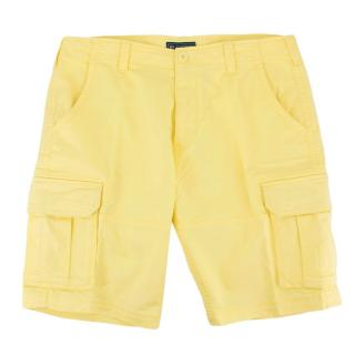 Be-Store Bright Yellow Cargo Shorts