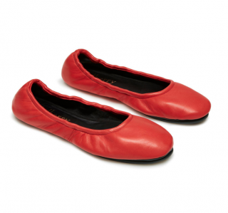 Mulberry Women's Red Fly Nappa Ballerinas