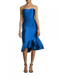 Sachin & Babi Blue Strapless Dress
