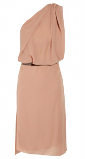 Acne Studios Evans asymmetric crepe dress