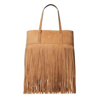 Michael Kors Ursula Fringed Suede Tote