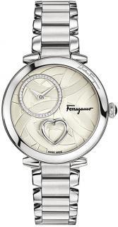 Salvatore Ferragamo Beating Heart Swiss Quartz Watch