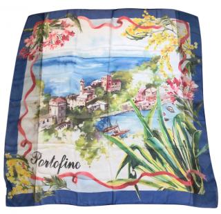 Dolce & Gabbana Portofino silk scarf
