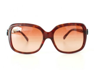 Chanel Oversize Brown Sunglasses