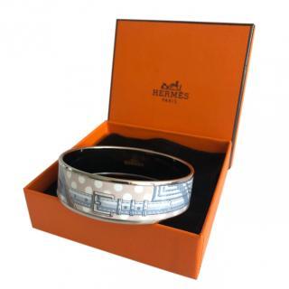 Hermes Polka Dot Enamel Bracelet
