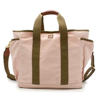 Bonpoint L/Uniform Pink Canvas Tool bag