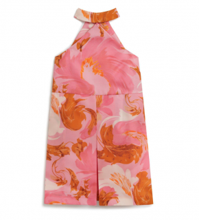 Mulberry Silk Cathy Dress In Sorbet Pink