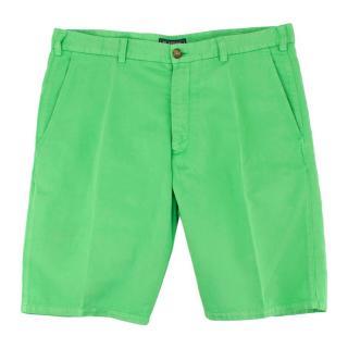 Be-Store Green Bermuda Shorts